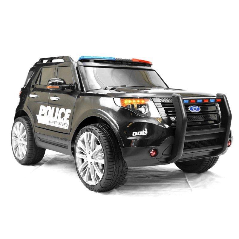Kinderfahrzeug Elektroauto Polizei Design Akku Fernbedienung Kinder Auto Kinderfahrzeuge