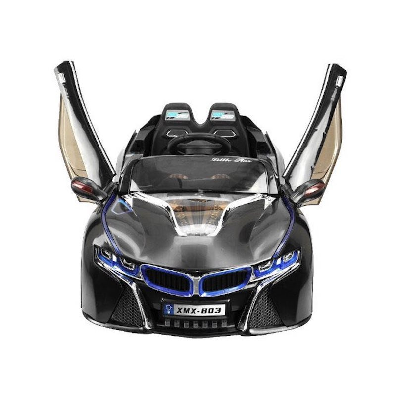 2,4Ghz Weiss 2x 12V Kinderfahrzeug Elektro Auto CONCEPT-2 2x30W mit MP3