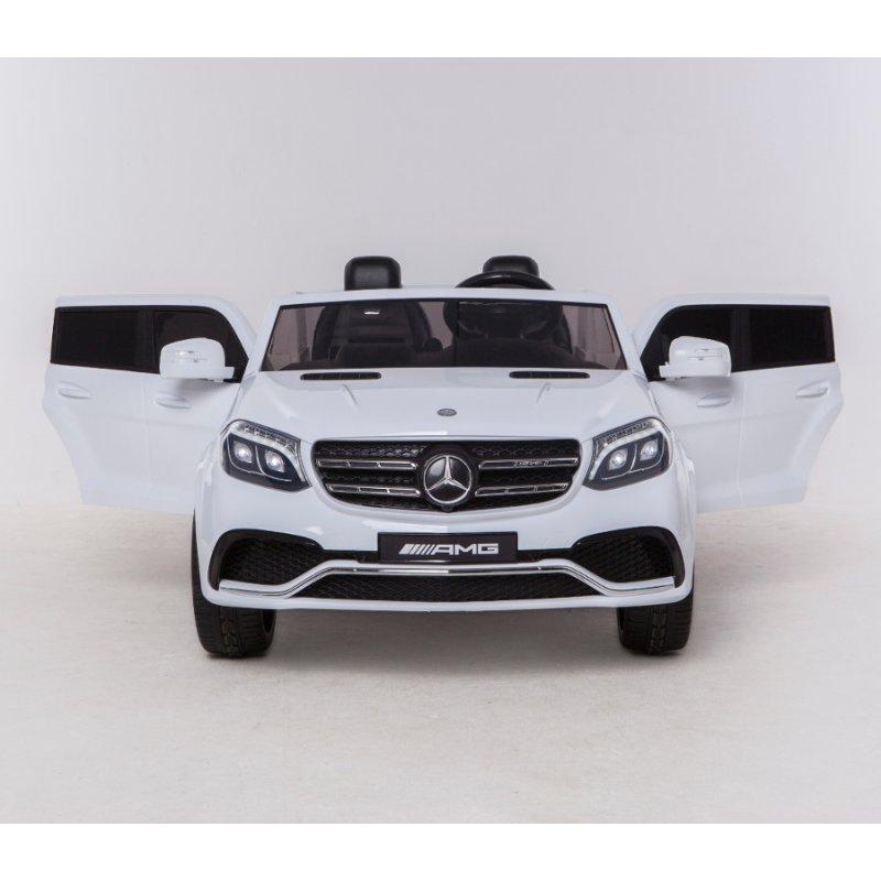 kinder elektroauto mercedes gls63 allrad 4x45 watt 2 x 12v7ah weisses 383 00. Black Bedroom Furniture Sets. Home Design Ideas