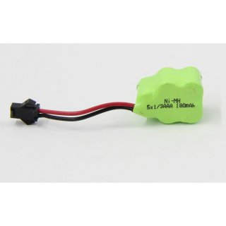 Akku NM 6V 180mAh Toy 5x1/3AAA Hump